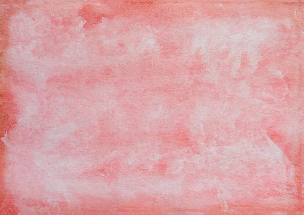 Abstrait avec des taches artistiques, des coups de pinceau et des lavages de couleur à l'eau.