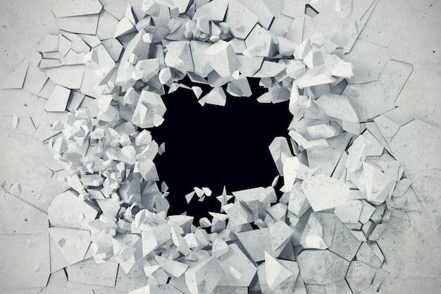 Abstrait terre concrète fissurée.