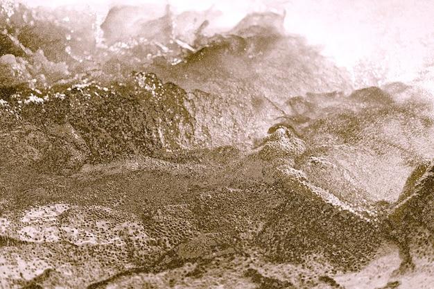 Abstrait texturé cahoteux doré