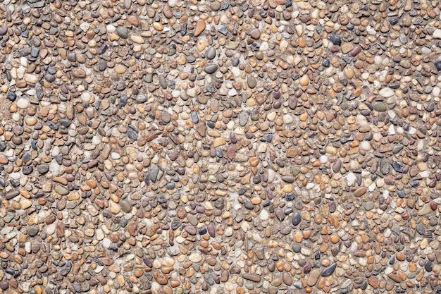 Abstrait de la texture du sol en pierre de la mer ancienne