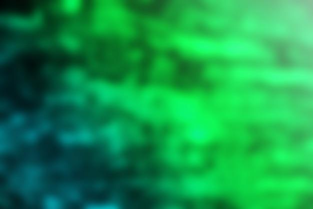 Abstrait texture floue fond dégradé vert bleu
