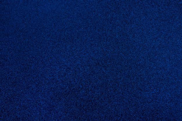 Abstrait de texture de paillettes bleues.