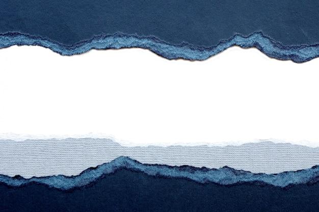 Abstrait et texture papier déchiré noir et gris.
