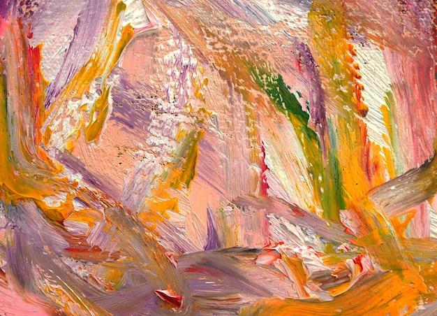Abstrait de la texture de la peinture à l'huile