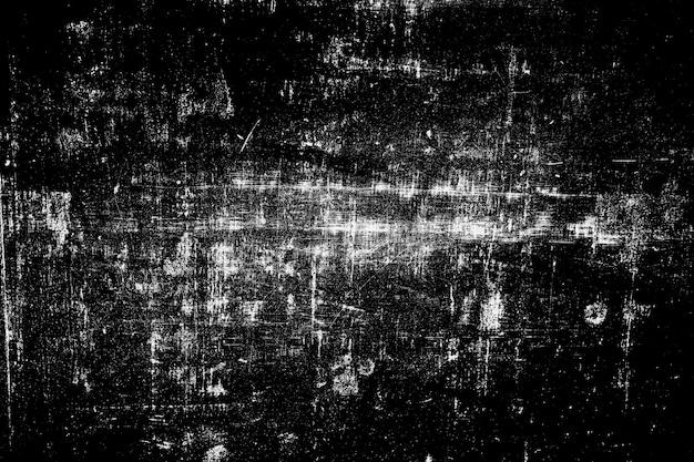 Abstrait de texture de surface grunge noir et blanc.