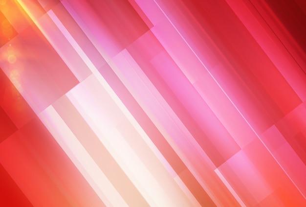 Abstrait de thème rouge avec des reflets diagonaux