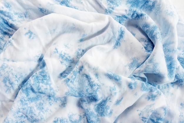 Abstrait de tissu blanc