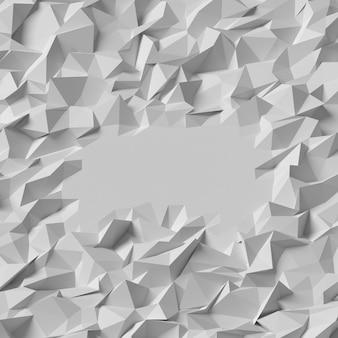 Abstrait triangle géométrique polygonale