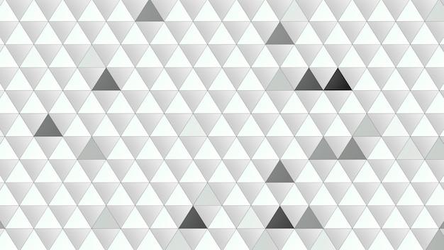 Abstrait de triangles. style géométrique dynamique élégant et luxueux pour l'illustration 3d d'entreprise