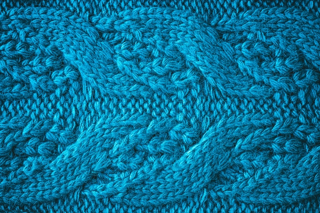 Abstrait tricoté avec des tresses.