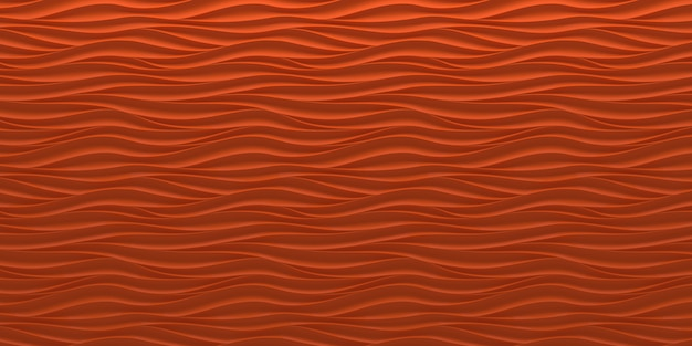 Abstrait de vagues rouges