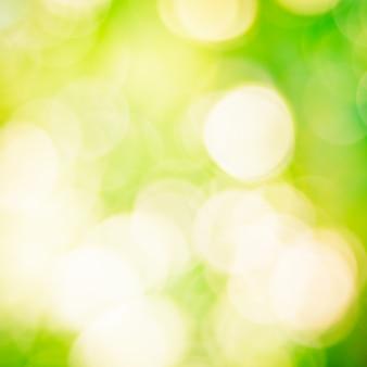 Abstrait vert bokeh