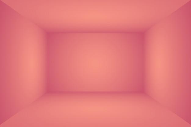 Abstrait vide lisse fond de chambre studio rose clair