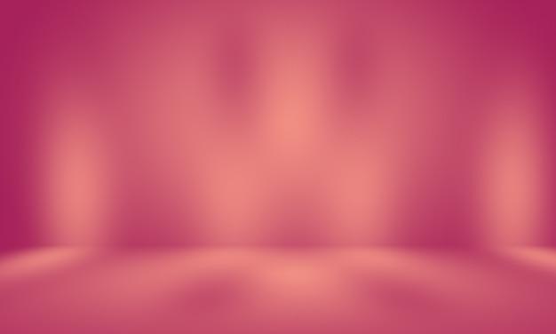 Abstrait vide lisse rose clair studio salle fond