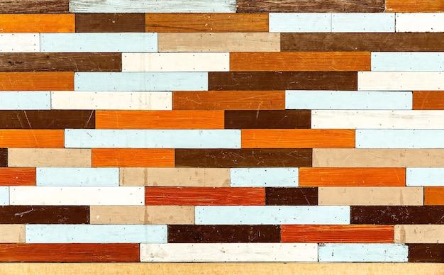 Abstrait de vieux bois de style vintage coloré