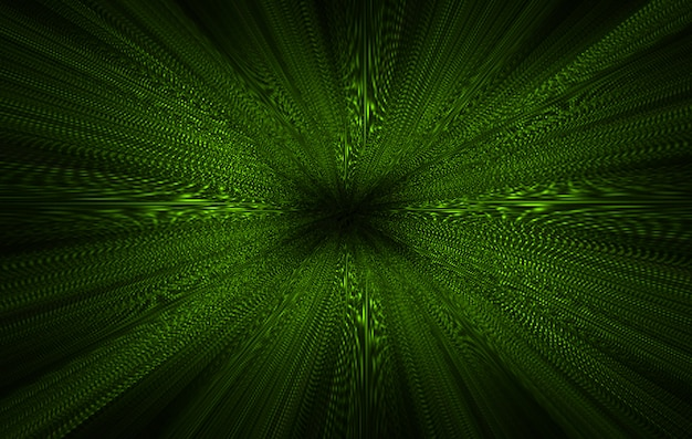 Abstrait zoom vert clair