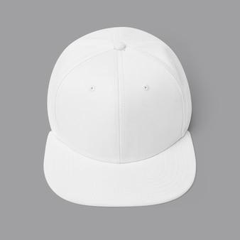 Accessoire de coiffure simple casquette blanche et rose