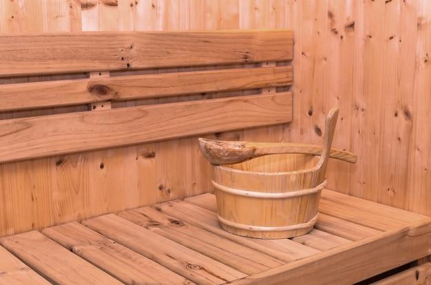 Accessoire de salle de sauna