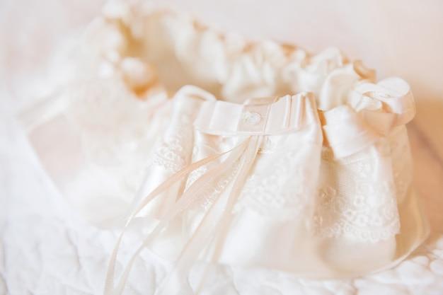 Accessoire symbolique traditionnel de la mariée