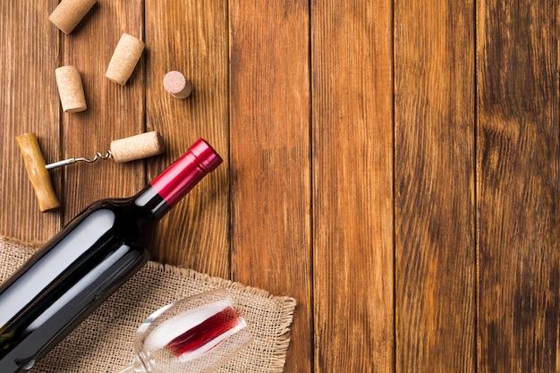 Accessoires de bouteille de vin pour une bonne boisson