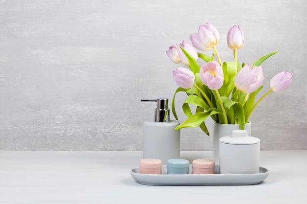 Accessoires de céramique légère pour salle de bain
