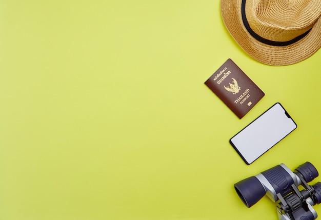 Accessoires du voyageur plan vente d'été