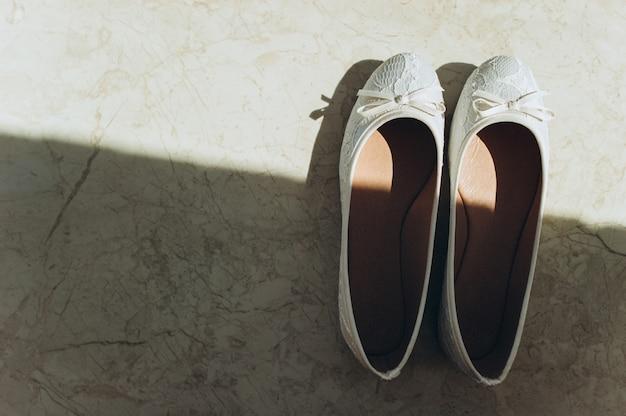 Accessoires de mariée: chaussures de mariée