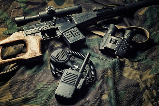 Accessoires militaires, kit de survie, campagnes militaires.