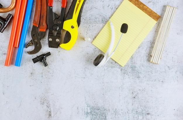 Accessoires de plomberie outils tuyaux raccords sur outils de kit d'alimentation en eau, tuyaux en polypropylène