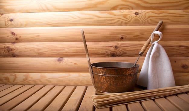 Accessoires pour bain et sauna. espace copie