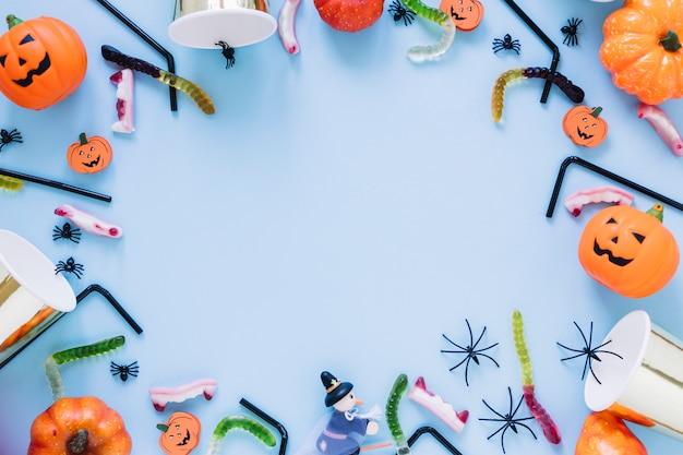 Accessoires pour halloween en fête