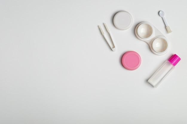 Accessoires pour lentilles de contact
