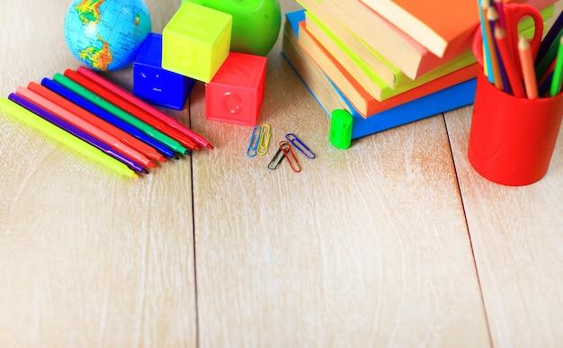 Accessoires scolaires.
