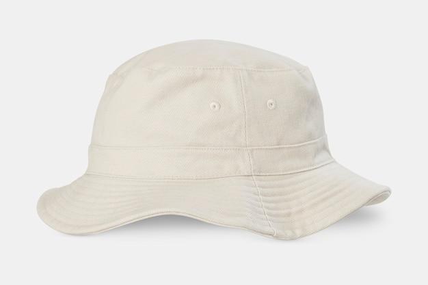 Accessoires streetwear chapeau seau écru