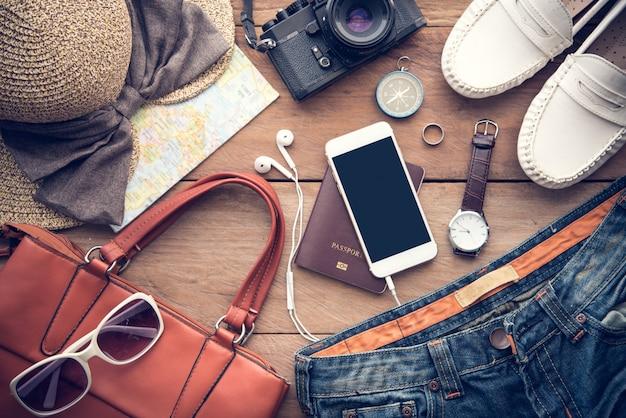 Accessoires de voyage costumes pour femmes