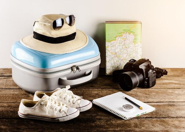 Accessoires de voyage pour le voyage.