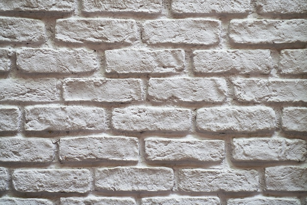 Accidenté mur de briques grises