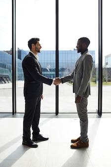 Accueillir un partenaire commercial dans l'entreprise