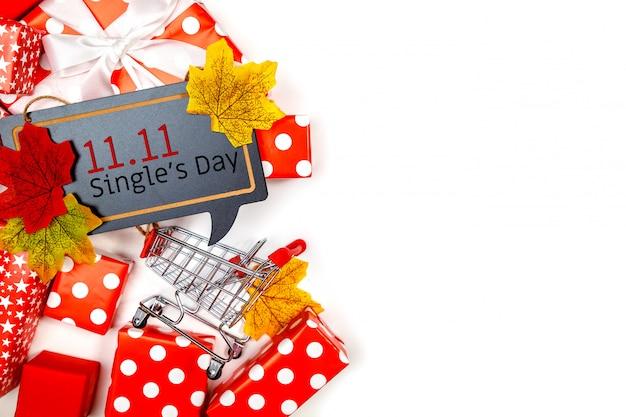 Achat en ligne de chine, 11.11 jour de vente