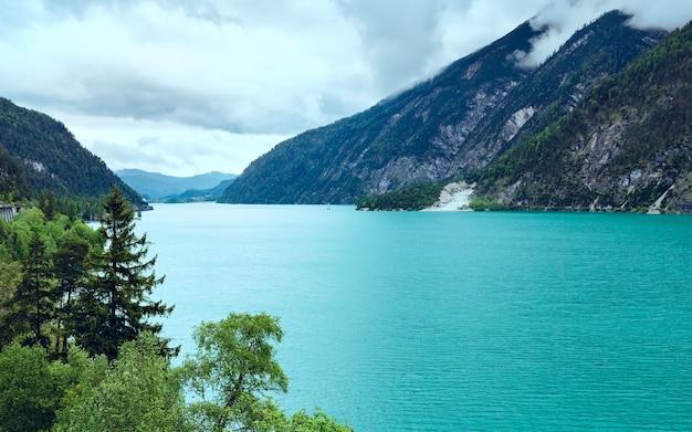 Achensee (lac achen) paysage d'été (autriche)