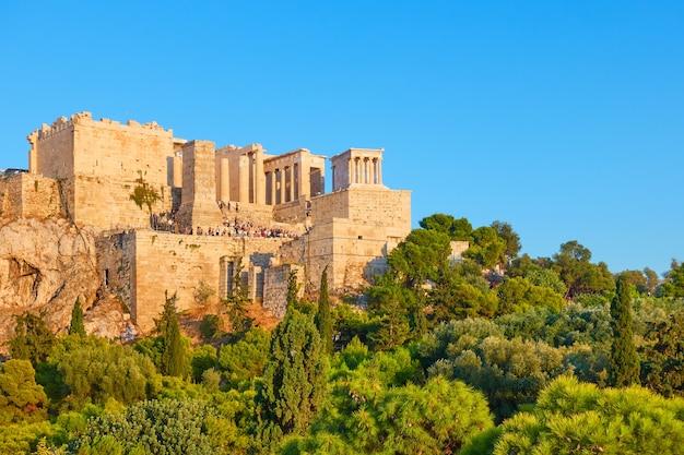 L'acropole à athènes, grèce - paysage grec
