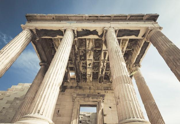 Acropole du temple d'erechthéion