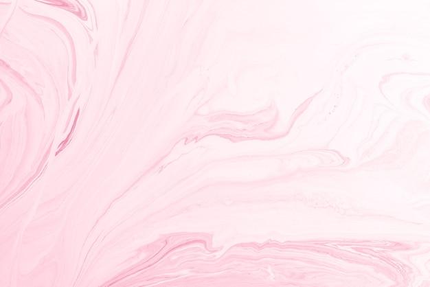 Acrylique rose verser la couleur surfaces abstraites en marbre liquide design.