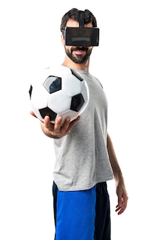 Activité de lunettes visuelles interactives hitech
