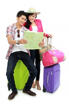 Adolescent heureux en vacances