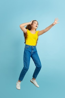 Adolescente, sauter
