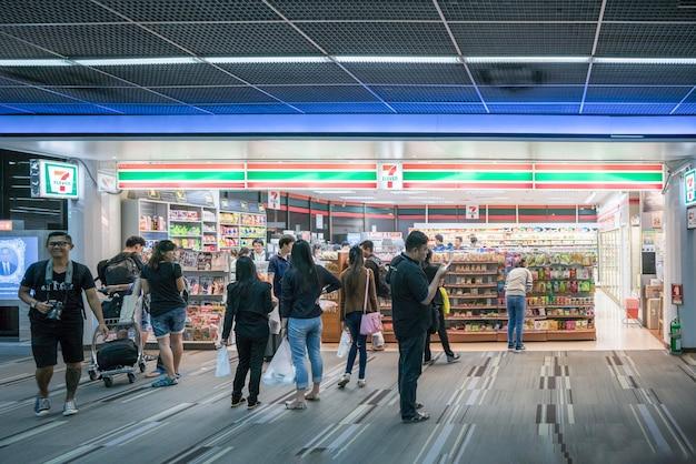 Aéroport de suvarnabhumi en thaïlande
