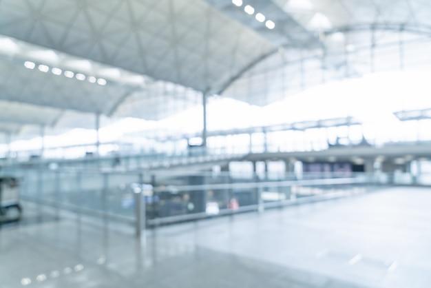 Aéroport vide de flou