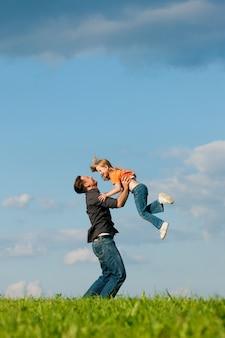 Affaires familiales - père et fille