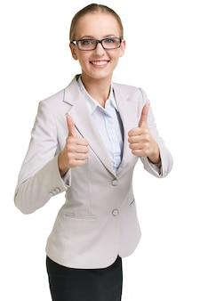 Affaires réussie célébrer